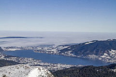 Tegernsee in Winter Stock Photography