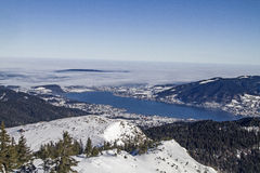 Tegernsee in Winter Stock Image