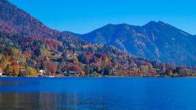 Tegernsee wzgórza Obraz Royalty Free