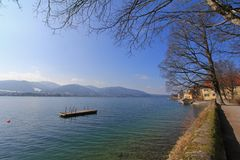 Tegernsee (Zungenbecken Lake), Germany Royalty Free Stock Image