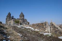 Tegher修道院 库存照片
