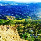 Tegucigalpa dolina, Honduras Obrazy Royalty Free