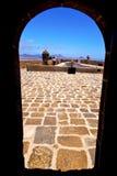 Teguise arrecife Lanzarote στο castillo Στοκ Φωτογραφίες