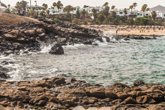 Teguise beach Stock Photography