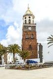 Teguise, Iglesia de Nuestra Senora de Guadalupe Stock Photography