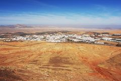 Teguise, Lanzarote Στοκ Εικόνες