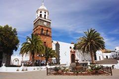 Teguise Lanzarote Royaltyfri Foto