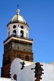 Teguise Lanzarote ain το παλαιό πεζούλι Στοκ Φωτογραφία