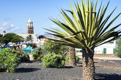 Teguise. Lanzarote, Canary Islands, Spain: Typical Sunday market Stock Photos