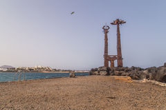 Teguise plaża Obrazy Royalty Free