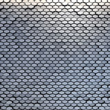 Teh abstract reflectivity material hexagons background. The abstract metal material hexagons background Stock Image