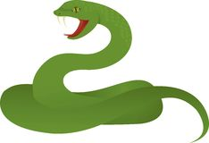 Teh snake Royalty Free Stock Image