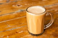 Teh tarik or pulled milk tea, popular drink in Malaysia. For all occasions stock images