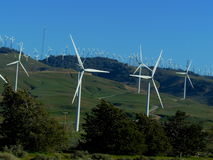 Tehachapi Pass Wind Farm Stock Photos