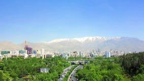 Teheran Ab-nolla Atash parkerar lager videofilmer