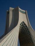 Teheran Azadi wierza niebieskie niebo Obraz Royalty Free