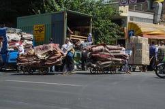 Teheran dywanu bazar Zdjęcie Stock