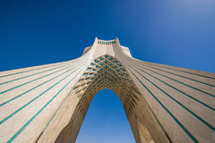 Teheran em Irã fotografia de stock