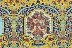 TEHERAN, IRAN - 5 OTTOBRE 2016: Esterni del palazzo di Golestan Immagini Stock Libere da Diritti