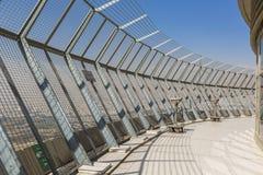 TEHERAN IRAN, PAŹDZIERNIK, - 05, 2016: Obserwacja pokład przy Milad Holowniczym Obrazy Stock