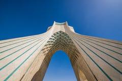 Teheran nell'Iran fotografia stock