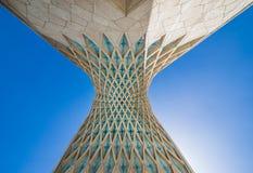 Teheran nell'Iran fotografie stock libere da diritti