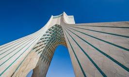 Teheran nell'Iran fotografie stock