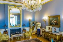 Teheran Niavaran pałac kompleks 12 zdjęcia stock
