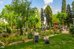 Teheran parkerar iranska konstnärer 01 arkivfoto
