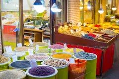 Teheran suszył owoc rynku kram obrazy royalty free