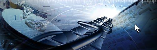 Tehnology Banner stock image