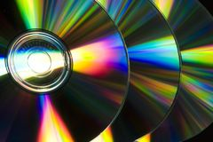 Tehnology CD Fotografie Stock Libere da Diritti