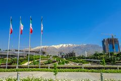 Tehran Ab-o Atash Park 06 royalty free stock photography
