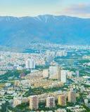 Tehran aerial view, Iran royalty free stock image