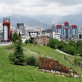 Tehran city. View of Tehran city, Iran stock photography