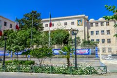 Tehran City Courthouse stock photography