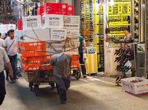 Tehran Grand Bazaar manual workers Stock Image