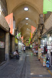 Tehran grand bazaar. And various shops Stock Photos