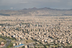 Tehran, Iran. Tehran from above captured from milad tower Royalty Free Stock Photos