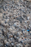 Tehran, Iran. Tehran from above captured from Milad tower in Iran Royalty Free Stock Photo
