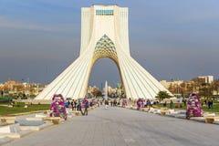 Azadi Tower in Tehran. Iran stock photo