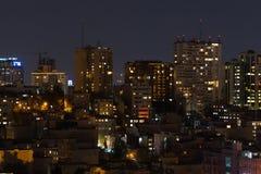 Tehran, Iran. Night View of Tehran city Stock Photos