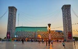 Evening in Tehran Stock Photos