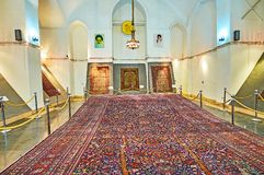 The carpet exhibition in Golestan, Tehran Stock Image