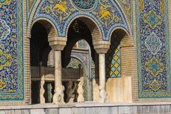 TEHRAN, IRAN - OCTOBER 05, 2016: Exteriors of Golestan palace an Stock Image