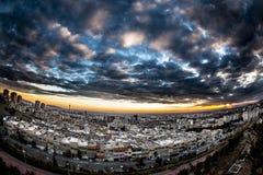 Tehran, Iran. View from the north region of Tehran stock image