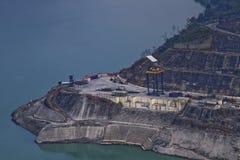Tehri Dam Stock Image