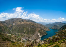 Tehri lake Royalty Free Stock Photography