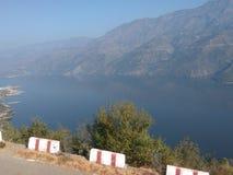 Tehri lake stock photography