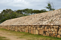 Tehuacalco Ruins in Mexico Royalty Free Stock Images